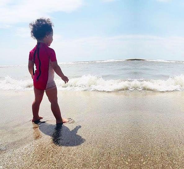Razones para ir con los niños a la playa en cariló.